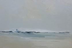 """Wind Swept Wave"" 12 x 16 ins"