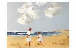 Atlantic Breeze 12x16in Oil on Canvas Panel