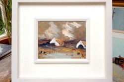 Connemara Cottages by Thelma Mansfield