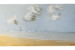The Pigeon House, 35x70cm Oil on Canvas